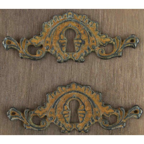Prima Metal Embellishments - Ornate Keyhole