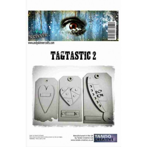 Chipboard Tagtastic2 by Andy Skinner