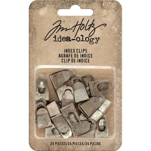 Idea-ology Tim Holtz Metal Index Clips