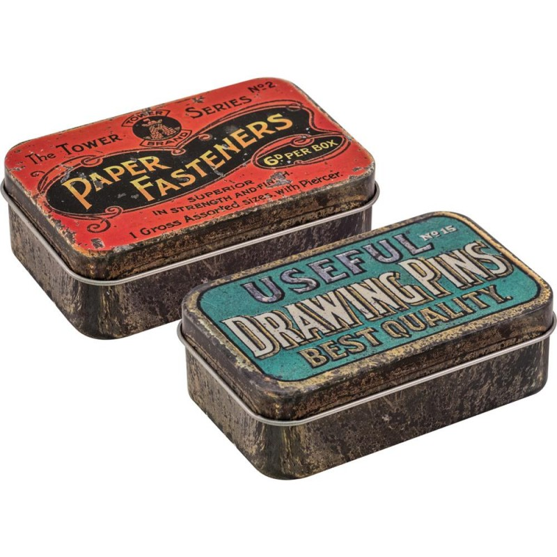 Idea-ology Tim Holtz Metal Trinket Tins