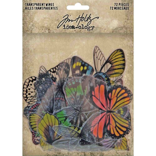 Tim Holtz Idea-Ology Transparent Acetate Wings