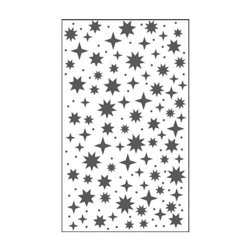 "Carpeta de embossing 3"" x 5"" starry sky"
