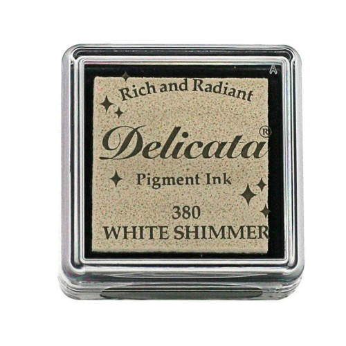 Tinta DELICATA color White Shimmer
