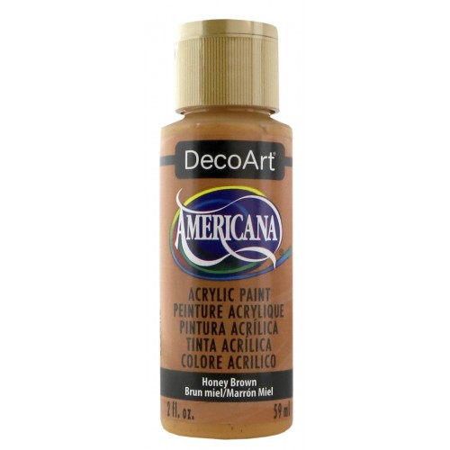 Pintura acrílica Americana - Honey Brown