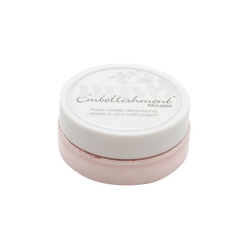 Nuvo Embellishment Mousse - poppy pink