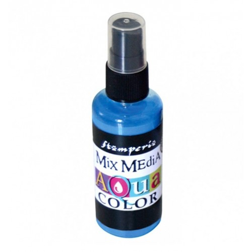 Tinta en Spray Aquacolor Stamperia. Light Blue