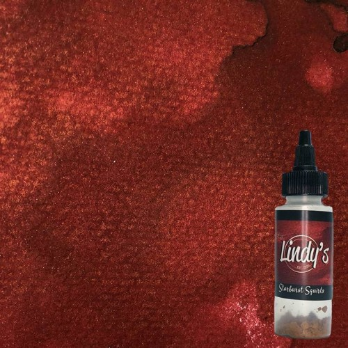 Lindy's Stamp Starbust Squirts - Oh Canada Crimson
