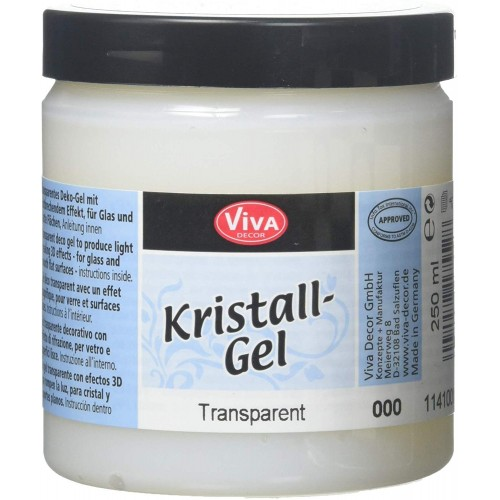 Cristal Gel Viva Decor - Transparente