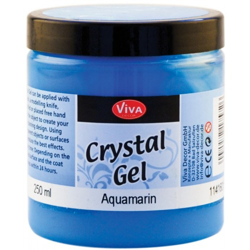 Cristal Gel Viva Decor - Aquamarina