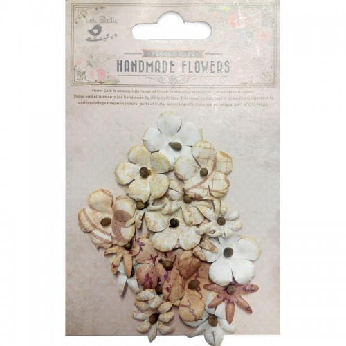 Kit de flores Little Birdie - Flores mini amarillas