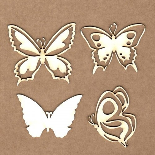 "Chipboard Kora Projects ""Mariposas"""