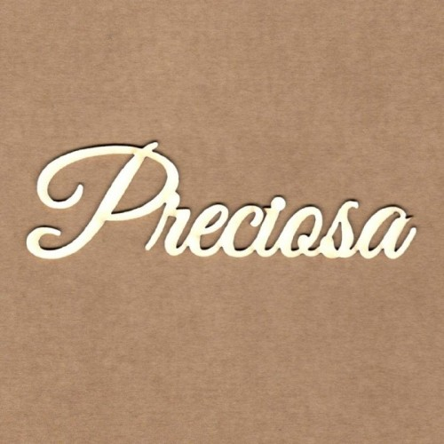 "Chipboard Kora Projects ""Preciosa"""