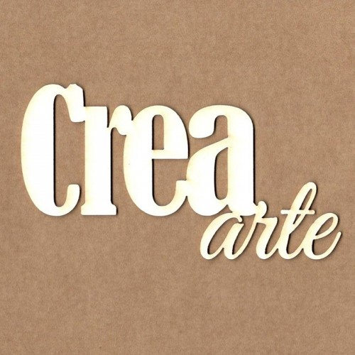 "Chipboard Kora Projects ""Crea arte"""