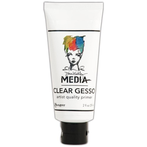 Dina Wakley Media Gesso Clear 59 ml.