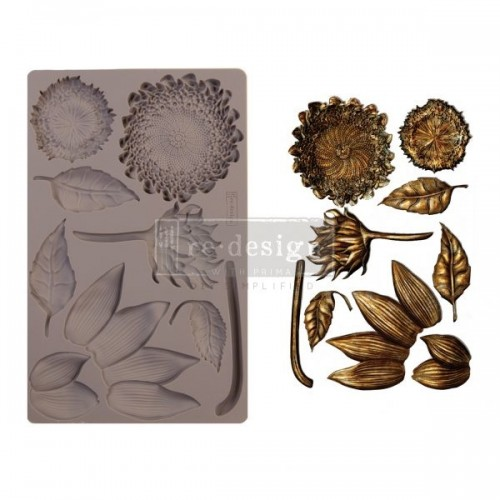 Prima Marketing Re-Design Mould - Forest Treasures