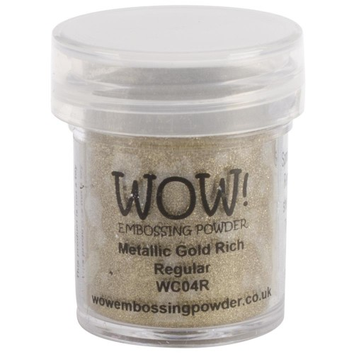 Polvos embossing WOW - GOLD RICH Regular