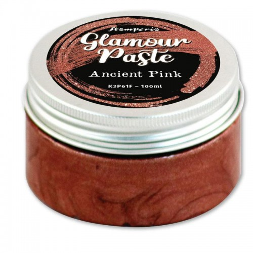 Glamour Paste Stamperia. - Ancient Pink