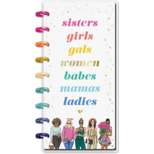 Happy Planner Hojas Notebook - Sisters X Rongrong