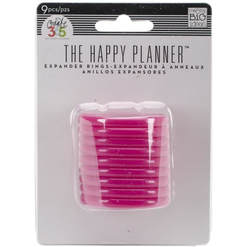 Happy Planner Anillas rosas - 1,75""