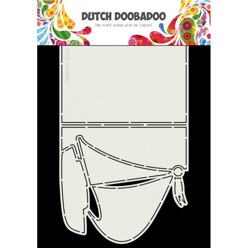 Dutch Doobadoo Card Art Sailboat