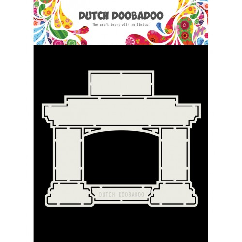 Dutch Doobadoo Card Art Fireplace