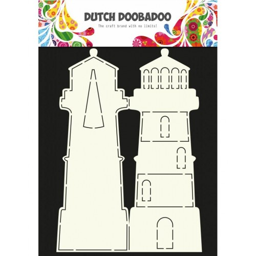 Dutch Doobadoo Card Art Lighthouse