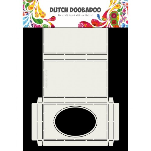 Dutch Doobadoo Box Art oval window