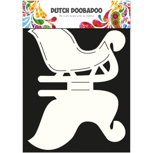 Dutch Doobadoo Card Art Sleigh