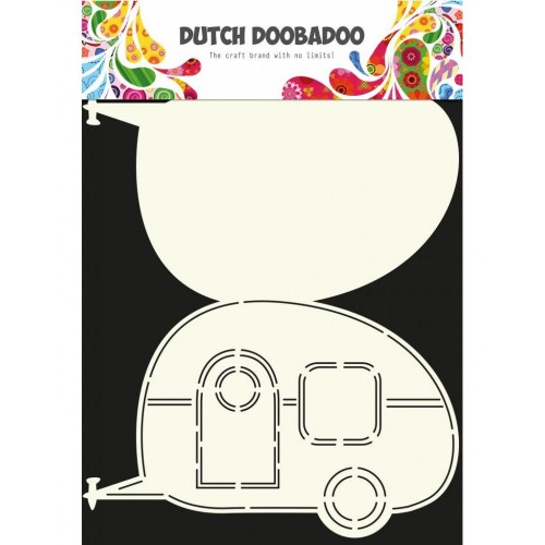 Dutch Doobadoo Card Art Caravan