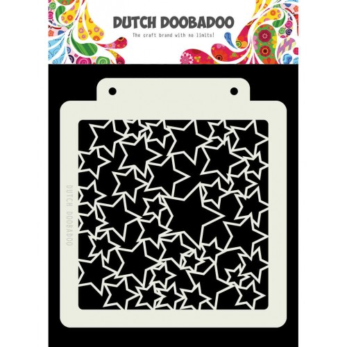Stencil Dutch Doobadoo A5 - Art Stars