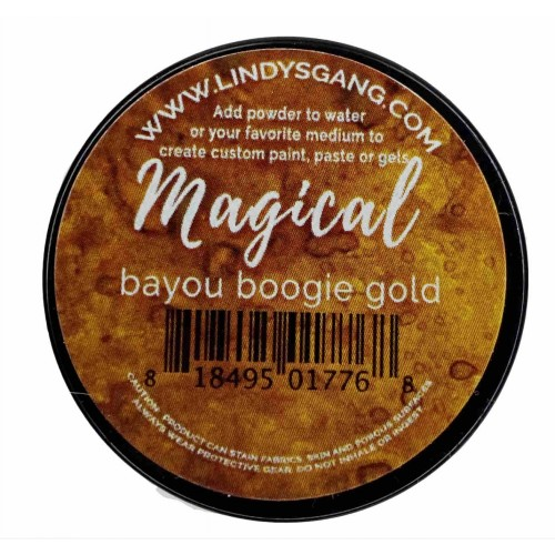 Pigmento Bayou Boogie Gold Magical - Lindy's Stamp