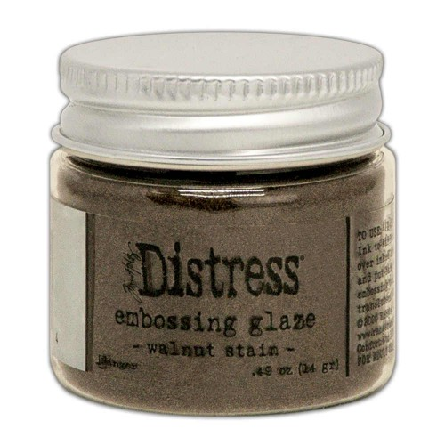 Tim Holtz Distress Embossing glaze Walnut stain