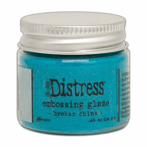 Tim Holtz Distress Embossing glaze Broken china