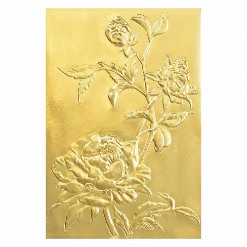 Carpeta de embossing 3D Sizzix - Roses by Tim Holtz
