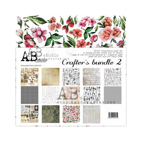 Kit de papeles ABstudio - Crafters bundle 2