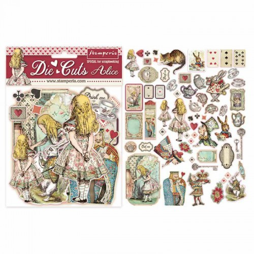Die Cuts Alice - Stamperia