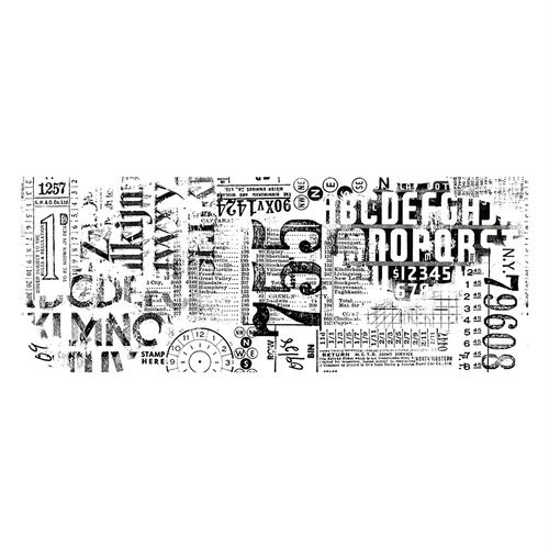 Idea-Ology Collage Paper Typeset - Tim Holtz