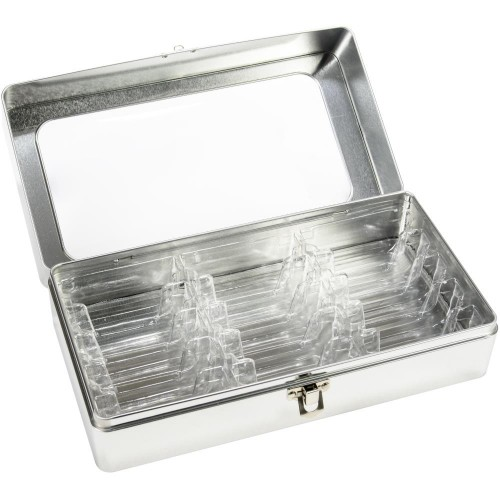 Caja de metal para guardar tintas Distress