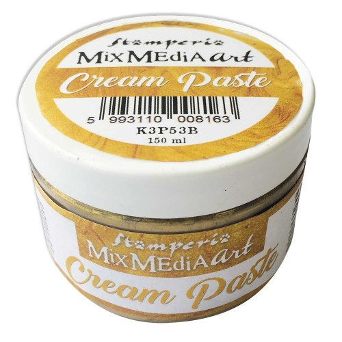 Cream Paste Metallic Gold - Stamperia