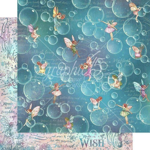Kit de papeles 30 x 30 Graphic45 - Fairie Wings