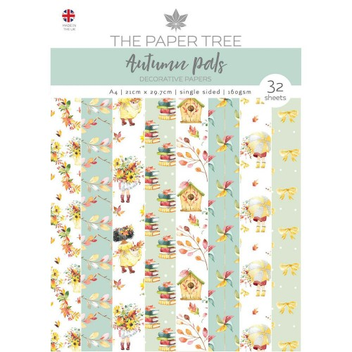 Kit de papeles A4 The Paper Tree Autumn Pals