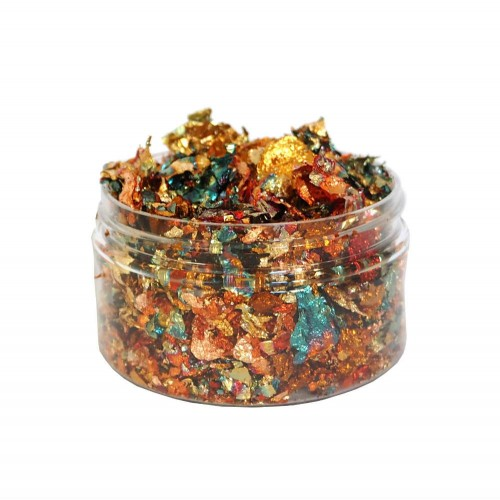 Cosmic Shimmer Gilding Flakes Autumn Leaves 100ml