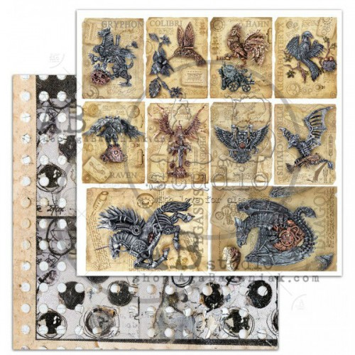 "elements ""Steampunk cards"" - ABstudio"