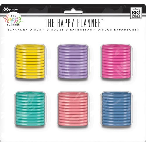 Happy Planner Pack de anillas multicolor 1.75""