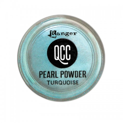 QuickCure Clay Pearl Powders Turquoise - Ranger