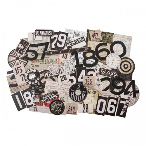 Tim Holtz Idea-Ology Ephemera Pack - Urban Layers