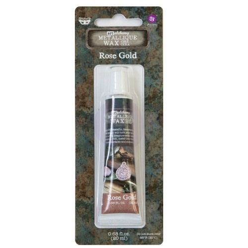 Cera Finnabair Art Alchemy Metallique Wax - Aged Brass