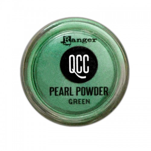 QuickCure Clay Pearl Powders Green - Ranger