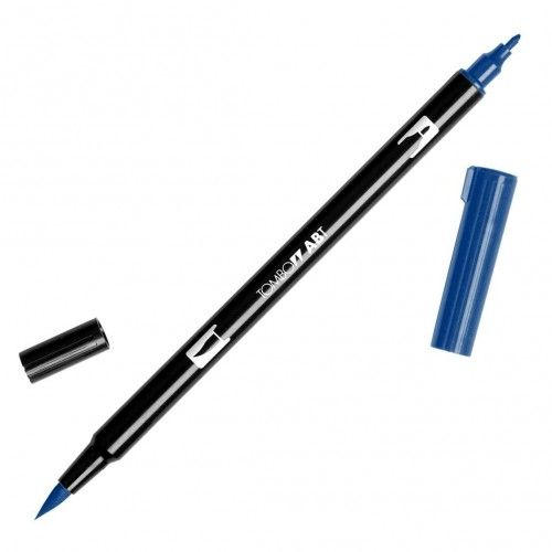 Rotulador Tombow dual pen Navy Blue