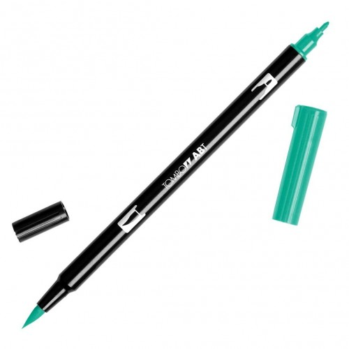 Rotulador Tombow dual pen Green